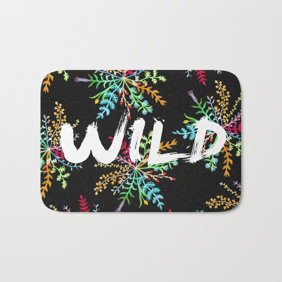 Wild Bath Mat