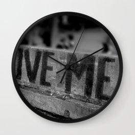 Paris Vibe Wall Clock