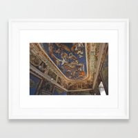 baroque Framed Art Prints featuring Baroque by Lorenzo Bini
