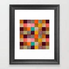 Decorated Pixel   Framed Art Print