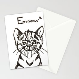 E=meow² Stationery Cards