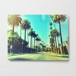 Beverly Hills California Metal Print