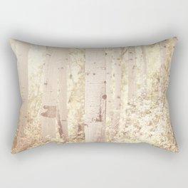 Dreamy Aspen Forest Rectangular Pillow