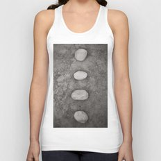 Lined up Unisex Tank Top