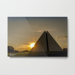 Temple of goodwill Metal Print