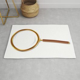 Brass Magnifying Glass Rug