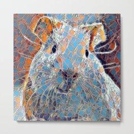 Mosaic - Guinea Pig Metal Print