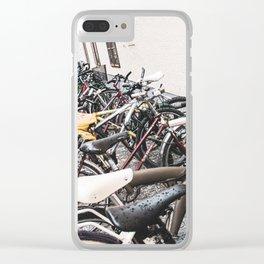 Bike Rack Clear iPhone Case