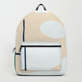 I don't know -  on white background Backpack