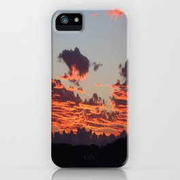Aegean Sunset iPhone Case