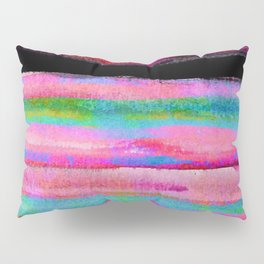 colorful abstract painting Pillow Sham