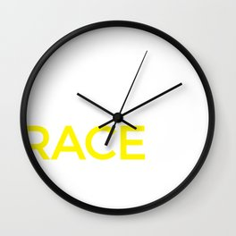 Racing Graphic For Racers & Car Lovers, Gift For Race Fans Wall Clock