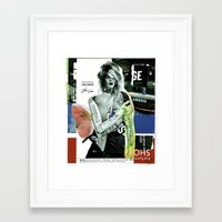 brand new Framed Art Prints featuring The Brand New Look by Marko Köppe