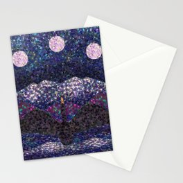 Chasing the Moon Stationery Cards