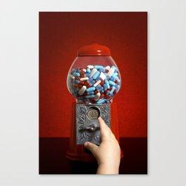 Candy Shop Canvas Print