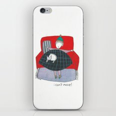 i can't move iPhone & iPod Skin