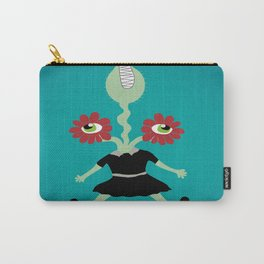 Flower Eyes Carry-All Pouch