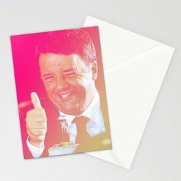 Matteo Renzi Stationery Cards