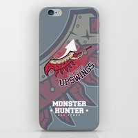 monster hunter iPhone & iPod Skins featuring Monster Hunter All Stars - The Kotoko Upswings  by Bleached ink