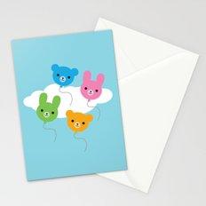 Kawaii Animal Balloons Stationery Cards
