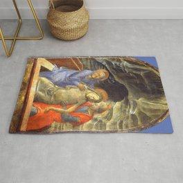 """Fra Filippo Lippi """"Pietà"""" Rug"""
