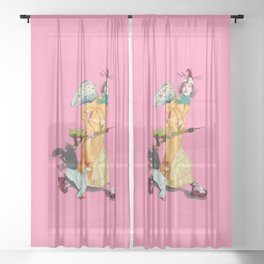 Fashion fitness 2 Sheer Curtain