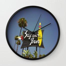 Safari Inn Wall Clock