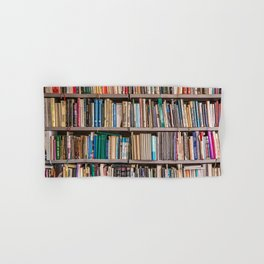 Library books Hand & Bath Towel