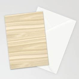 Maple Wood Texture Stationery Cards