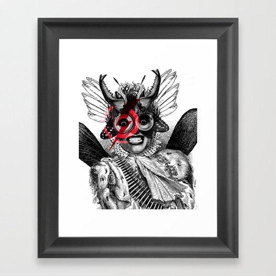 The Baroness Framed Art Print