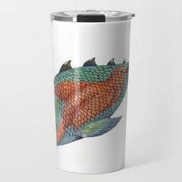 Big fish, small bird Travel Mug