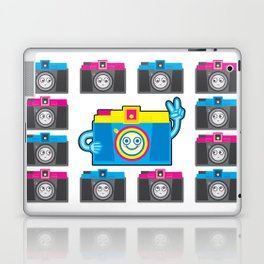 We are watching you. PEACE!!! Laptop & iPad Skin
