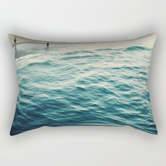 You, Me, and The Sea  Rectangular Pillow