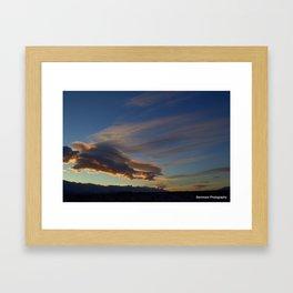 The Amazing Sky Framed Art Print
