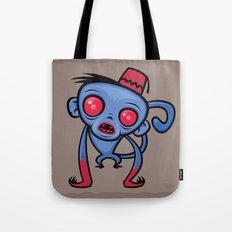 Zombie Monkey Tote Bag