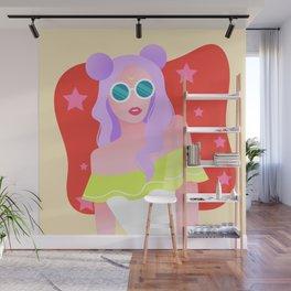 Sailor Beach Babe Wall Mural