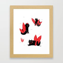 Kittes Framed Art Print