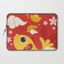 Happy And Lucky Laptop Sleeve