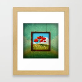 Through The Looking Glass - Hope Framed Art Print