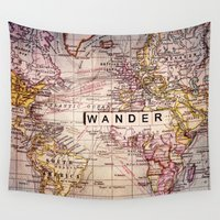wander Wall Tapestries featuring wander by Sylvia Cook Photography