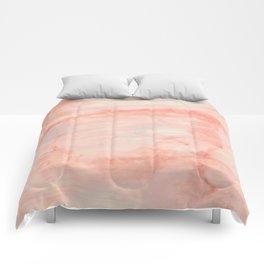Dramaqueen - Pink Marble Poster Comforters