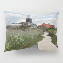 Fire Island Light With Reflection - Long Island Pillow Sham