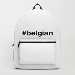 BELGIAN Hashtag Backpack