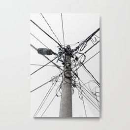 Electrica Paranormal Metal Print