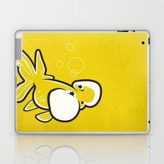 Bubble Eye Goldfish Laptop & iPad Skin