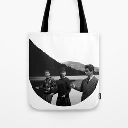 Collage Bande à part (Band of Outsiders) - Jean-Luc Godard Tote Bag