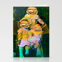 mac Stationery Cards featuring Mac Attack by Tyler Spangler