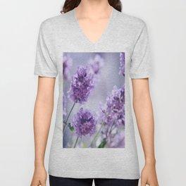 lavender Purple Unisex V-Neck