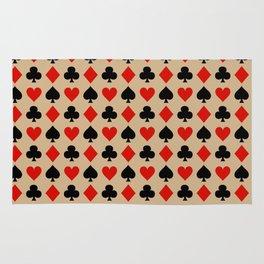 Card Suits // Tan Rug