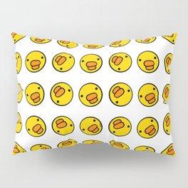 Little Ducky Heads Pattern Pillow Sham